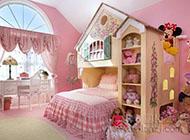 可爱粉嫩色调儿童房效果图欣赏