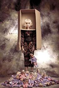 文咏珊洋娃娃造型梦幻诡异创意照