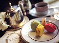 马卡龙甜点可爱唯美意境图片