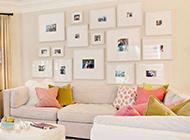 现代客厅沙发背景墙简约时尚
