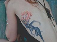 性感美女刺青纹身图片