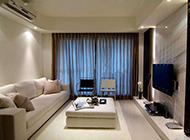 横式小户型客厅设计图简单精致