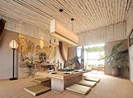 卧室日式古典榻榻米装修效果图