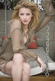 美国美女模特艾梅伯希尔德高清生活组图