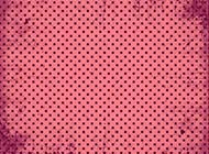 ppt背景图片粉红色斑驳圆点素材