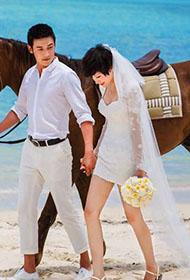 陆毅鲍蕾婚纱时尚质感大片