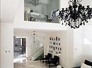 简约黑白风格别墅装修设计效果图