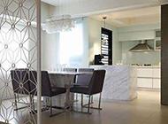复式四居室现代美式混搭装修图片