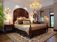 主卧室欧式装修风格华丽设计图片