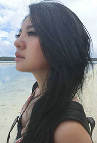 台湾大眼美女安以轩个人微博照片