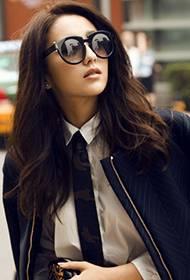 佟丽娅欧美时尚街拍 引领潮流搭配