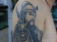 关公手臂纹身图片经典霸气