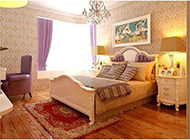 地中海复式卧室明亮温馨装修效果图大全