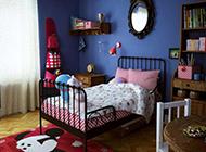 小户型儿童卧室室内整洁温暖设计效果图