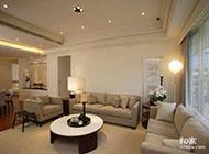 115平方米暖色系简约三居室玄关效果图