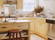 小户型田园风格别致小厨房装修效果图