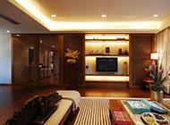时尚美观的卧室隐形门效果图