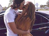 浪漫温馨接吻的情侣qq图片