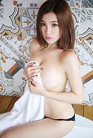 美媛馆短发萝莉刘娅希浴室清凉写真