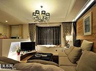 60平方米简约温馨婚房室内装修效果图