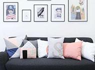 沙发时尚个性相片墙装饰图片