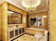 奢华舒适的卫生间装修效果图