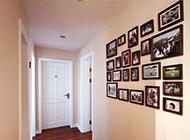 美式走廊相片墙设计图片