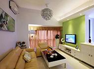 三居室简单现代混搭装修效果图