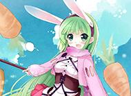 经典动漫中的超萌兔兔美少女