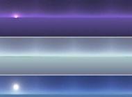 微信聊创意色彩天空banner背景图