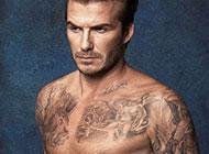 欧美男明星贝克汉姆纹身图案欣赏