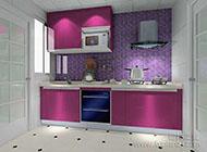 小户型简约实用厨房橱柜图片