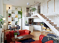 小复式客厅装修效果图大玩简约时尚