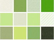 小清新绿色花纹背景图片欣赏