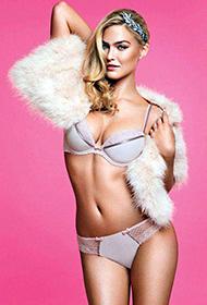 性感超模芭儿·拉法莉全新内衣写真惹人爱