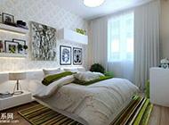 舒适清新简约风卧室装修风格图片