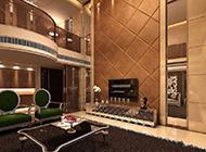欧式别墅客厅装修效果图尽显奢华大气