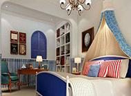 地中海卧室明亮温馨装修效果图大全