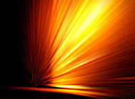 金黄色创意耀眼射线背景高清图片