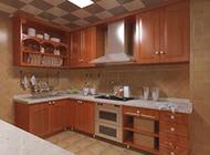 中式现代简约厨房装修效果图