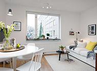 小型公寓白色简约装修效果图舒适温馨