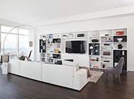 美式简约清新明亮风格公寓装修