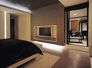 中式大气别墅卧室装修设计效果图片
