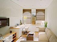 日式简约公寓错层装修效果图