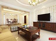 大户型简欧客厅装修效果图欣赏