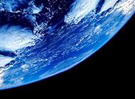 地球蓝色唯美高清背景图