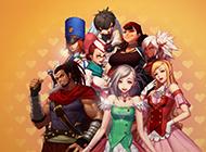 角色扮演2D网游《地下城与勇士》高清原画