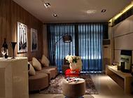 时尚二居室混搭装修效果图大方得体