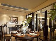 中式现代二居室装修效果图欣赏