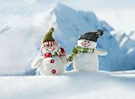 令人难以忘怀有关雪人的ppt背景图片